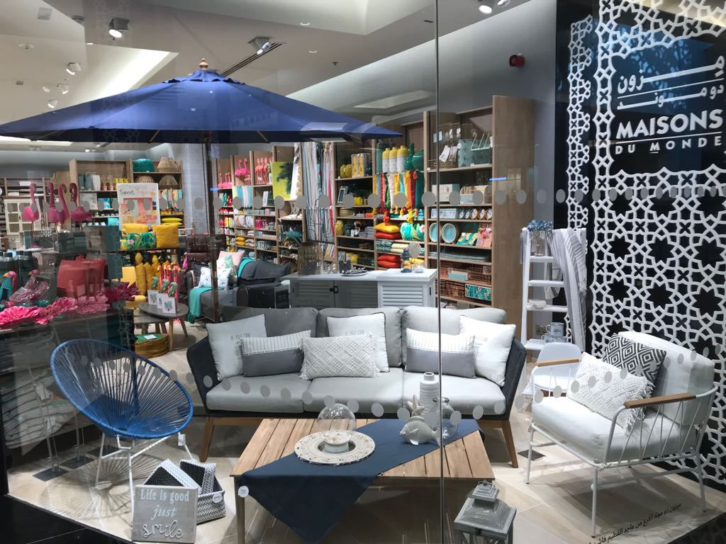 Maisons du Monde opened a second franchise store in Dubaï, in